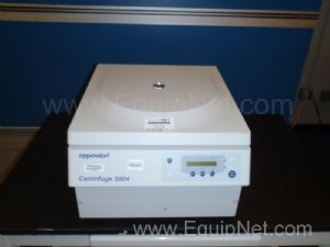 Eppendorf 5804 Centrifuge ''Not Working''
