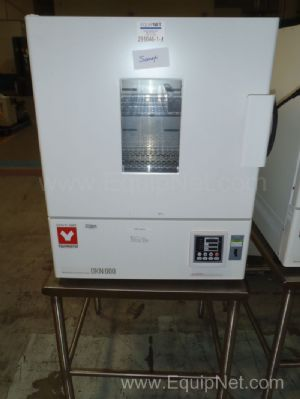 Yamato DKN600 Oven on Stainless Table with wheels