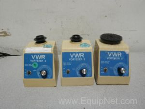 Lot of 3 VWR Scientific  G-560 Vortex Mixers