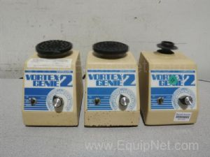 Lot of 3 VWR Scientific Vortex-Genie2 Mixers