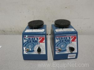 Lot of 2 VWR Scientific Vortex-Genie2 Platform Mixers