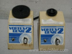 Lot of 2 VWR Scientific Vortex-Genie2 Mixers