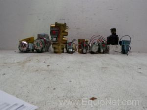 Lot of 8 various styles of solenoid Valves
