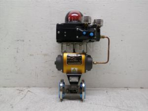 Worcester controls unused series 39 Pneumatic actuator with .5 inch 316 stainless steel ball valve