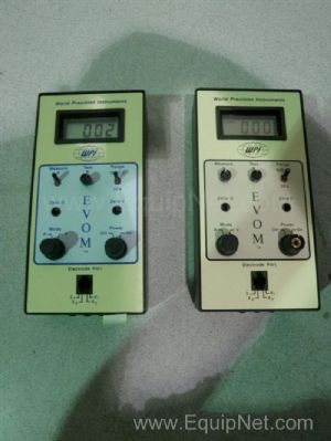 Lot of 2 WPI EVOM Epithelial Volt Meters