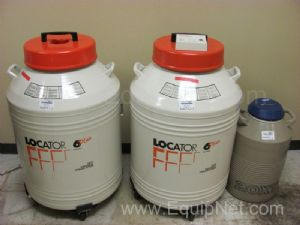 Lot of 3 Cryogenic Tanks