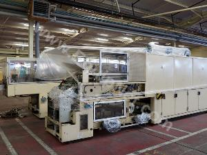 Cermex  Grouping and shrink wrapping line
