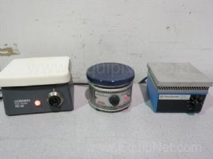 Lot of 3 Assorted Hotplates