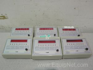 Lot of 6 VWR Traceable Alarmed Digital Timers