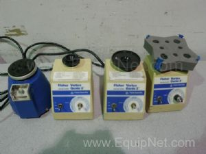Lot of 4 Assorted Vortex Mixers