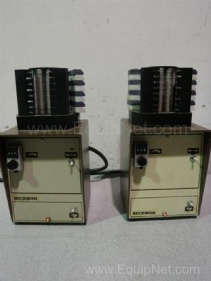 Lot of 2 Beckman MiniPuls 2 Peristaltic Pumps