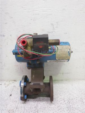 Jamesbury 3/4'' Fire Title Ball Valve with Piston Actuator