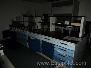 Contents Of Lab Including Benches And Equipment