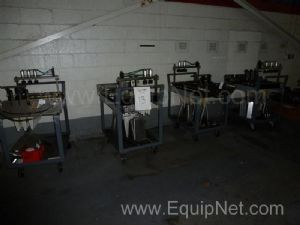 One Lot Of Case Packer Change Parts (7) Sizes