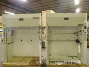 Lot of 2 Kewaunee Supreme Air Fume Hoods