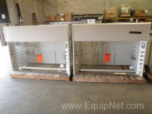 Lot of 2 Kewaunee LV05 Supreme Air Fume Hoods