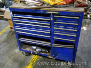 Work Chest Tool Box with Assorted Tools