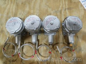 Lot of 4 United Electric Thermostat for Hazmat