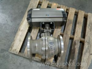 KTM EO100 6'' Ball Valve Actuator Operated