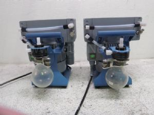 Lot of 2 Vacuubrand MZ2B Vacuum Pump System