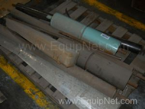 Large Lot of Filter Press and Conveyor Rollers