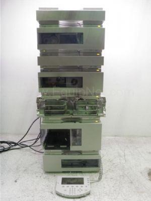 Agilent- Hewlett Packard 1100 Series HPLC System with Multi Wavelength Detector