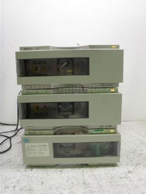 Lot of 3 Agilent-Hewlett Packard G1314A Variable Wavelength Detector