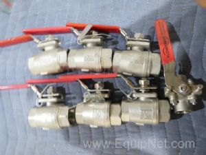 Lot of 7 Assorted Ball Valves