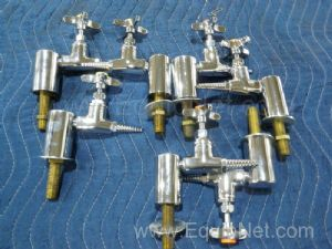Lot of 7 Watersaver Faucet Co. Assorted Valves