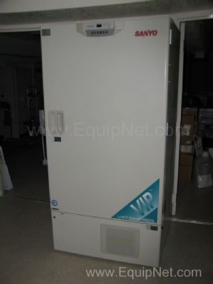 Sanyo -86C Ulta Low Temperature Freezer Model MDF-U73VC