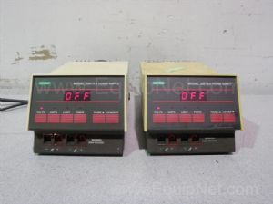 Lot of 2 Bio-Rad 200-2.0 Electrophoresis Power Supplies