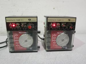Lot of 2 Pharmacia P1 Peristaltic Pumps