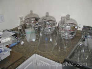Lot of Assorted Glassware and Laboratory Equipment