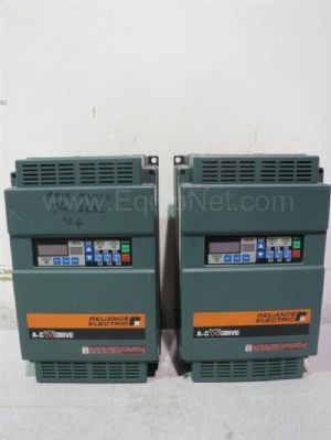 Lot of 2 Reliance Electric GP-2000 A-C Variable Speed Drives