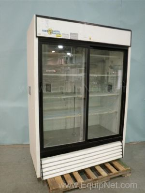 VWR GMD-47 Double Door Lab Refrigerator