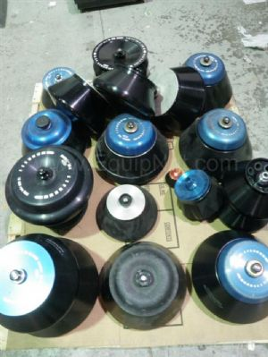 Large Lot of Assorted Sorvall Centrifuge Rotors