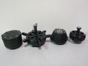 Lot of 4 Unknown Model Centrifuge Rotors