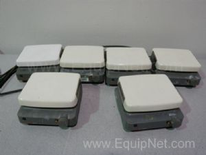 Lot of 6 Corning PC-310 Magnetic Stirrers