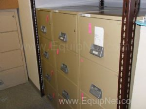 Lot of 3 Schwab Filing Cabinets