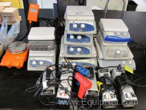 Lot of Assorted Stir Plates and Miscellaneous Laboratory Equipment