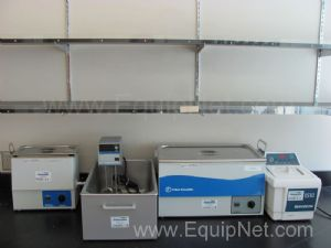 Lot of Miscellaneous Ultrasonic Cleaner and Waterbaths
