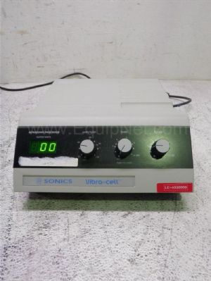 Sonics VC130 Ultrasonic Processor