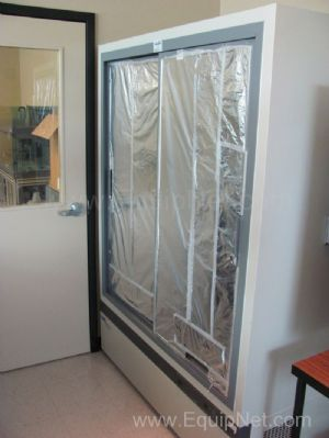 VWR Revco Double Glass Door Refrigerator Model VCR445A18