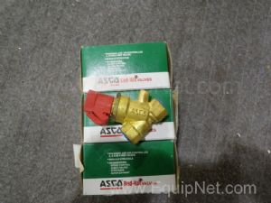 Lot of 3 Asco Solenoid Valves