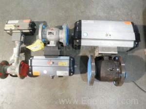 Lot of 3 Assorted Ball Valves