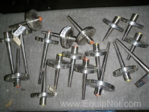 Lot 18 Ashcroft Assorted Thermowells