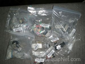 Lot of 26 Assorted Push Button Switches