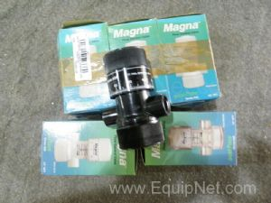 Lot of 5 Magna-Posi-Flate 608-Posi Flate Flow Control Valve