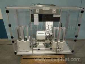Cybio Autosampler with Airfiltronix Custom Hood
