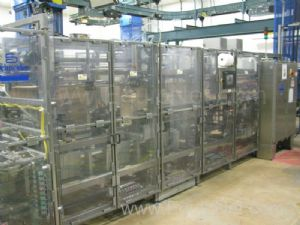 Schneider VCP Bottom Loaded Case Packer - Line 10